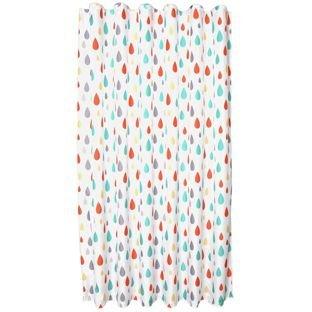Colourmatch highlight raindrops shower curtain £2.99 R&C at Argos
