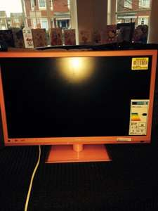 """Technika 22"""" Pink TV 1080p Slim LED  TV/DVD Combi with freeview £50 instore at Tesco"""