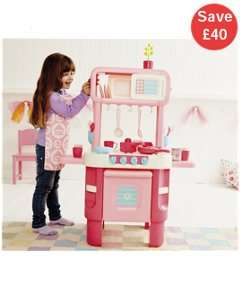 Little Cooks Kitchen in Pink now 30.00 reduced from 70 @ Mothercare/ELC + FREE C&C