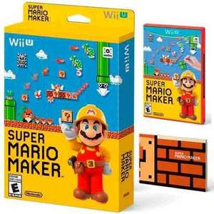 Wii U Super Mario Maker + Artbook  £30 @ Tesco Direct
