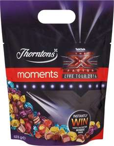 Thorntons Classic 'X Factor' Moments (523g)- £2.99 @ Argos