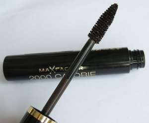 Max Factor 2000 Calorie Mascara, Dramatic Volume, Black/Brown (May Be Other Shades)? 9ml, @ Poundland Instore