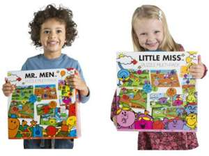 ** Mr Men or Little Miss Sunshine 10-in-1 Mega Jigsaw Puzzle Pack just £3.75 @ Tesco Direct (Free CnC) **