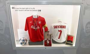 Liverpool FC Just £10 Centenary Stand Tours & 50% Off Boot Room Sports Cafe