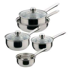 Sabichi 5 piece pan set Poundland  £18