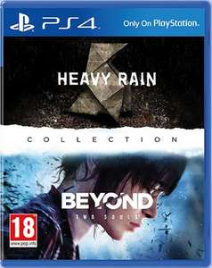 Heavy Rain & Beyond Two Souls PS4 Remastered £25.99 [£24.42 - Videogamebox] @ 365Games