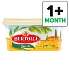 Bertolli Original Spread 500G  both original or light £0.90 @ Tesco