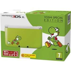 Nintendo 3DS XL with charger + Ultimate NES Remix OR New Super Mario Bros 2 OR Luigis Mansion 2 OR Yoshi Special Edition Console - £99.99 @ Nintendo UK Store + Free calendar