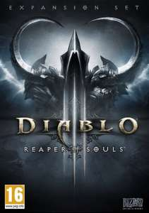 [Mac/PC] Diablo III - Reaper of Souls - £5.31 Delivered (£7.70 Non Prime) - Amazon (£5.66 FutureGaming)