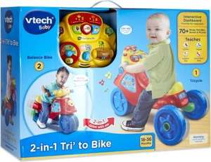 Vtech 2 in 1 Baby Trike to Bike £15 @ Tesco