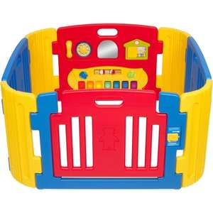 Little Playzone playpen with sound and light activity panel - £93.58 at Amazon