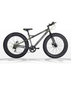 Piranha P300 26 inch Fat Tyre online only was £294.99 @ argos for £139.99