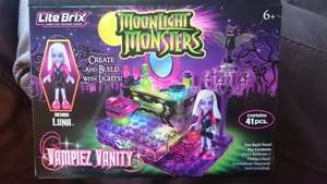 Lite Brix Moonlight Vampiez Vanity Set £1.99 @ Home Bargains rrp £9.99