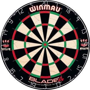 Winmau Blade 4 Dartboard £18.99 prime / £23.74 non prime @ Amazon & Argos