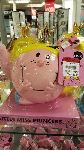 Little Miss Princess teapot at debenhams £9.90