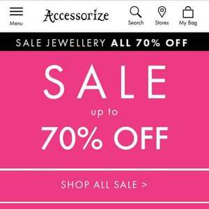 Accessorize sale - now up to 70% off