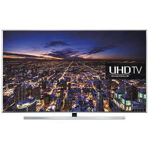 """Samsung UE48JU7000 LED 4K Ultra HD 3D Smart TV, 48"""" with Freeview HD/freesat HD and Built-in Wi-Fi - £799.00 @ John Lewis via price match"""