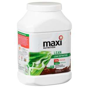 Maxi nutrition lean definition 1kg £14.99 at B&M