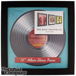 "12"" Vinyl Sleeve Picture Frame - £1.99 at Home Bargains"