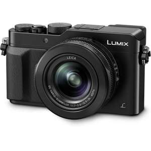 Panasonic LX100 Digital Camera - Black and Silver - £449 (£399 after cashback) ar SRS Microsystems