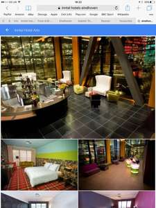 2 night break for a Couple in Eindhoven (Holland) Summer incl August Weekends Friday to Sunday Ryanair from Manchester £165.27 incl 4* art hotel (former Philips lightbulb factory)