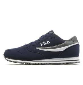 Fila euro jogger trainers Navy and also in White £16 @ JD