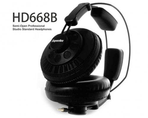 Superlux HD668B Pro Studio Headphones, £21.18 GearBest