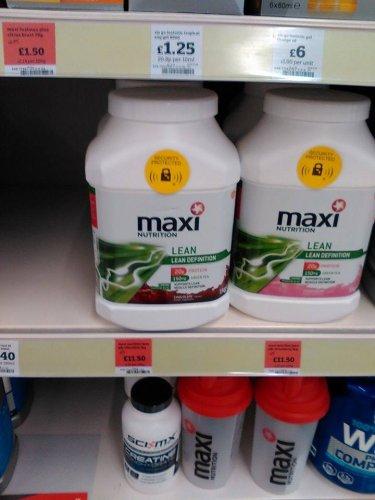 Maximuscle MaxiNutrition Lean Definition Protein shake 1Kg £11.50 @ Sainsburys