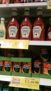huge 1.35kg heinz tomato ketchup £2.99 @ Home Bargains