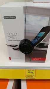 iDect  solo digital  cordless phone £27.50 instore at Tesco (Hodge Hill)