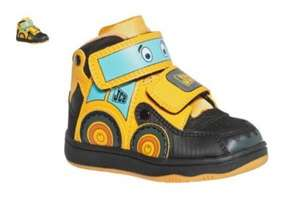 JCB Boys' Multicoloured Trainers Shoes £3.50 from Argos