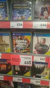 GTA 5 on PS4 Reduced to clear £35 in Morrisons INSTORE