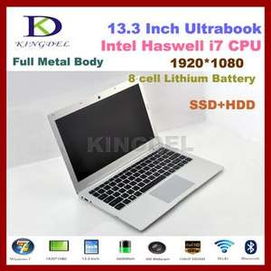 "Intel i7 5th Gen. CPU, Kingdel Ultrabook, 13.3"" Laptop Computer, 8GB RAM+128GB SSD, 1920*1080, HDMI, 8 Cell Battery, Windows 10 £418.11 at Ali Express / KINGDEL TECHNOLOGY CO., LTD"
