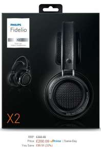 Philips X2 Fidelio Headphone £200.09 @ Amazon UK