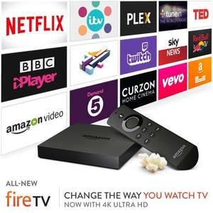 All-New Amazon Fire TV with 4K Ultra HD £63.99 @ Amazon