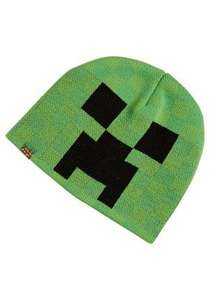 Minecraft Beanie Hat was £8 now £4 / Minecraft Scarf was £10 now £4 online @ Tesco Clothing FREE click & collect