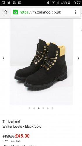 Timberland 6inch Boots Mens £45 @ zalando