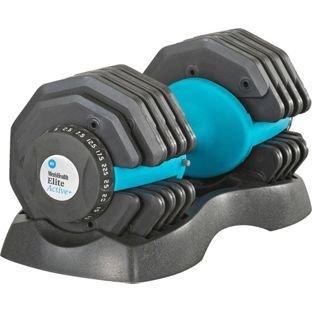 2 x Mens health Dial dumbbell - 25Kg  - ends 15th Jan £145.98 @ Argos