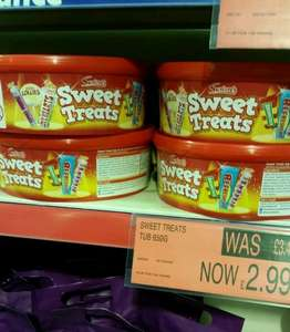 sweet treats tub 650G just for £2.99 @ B&M