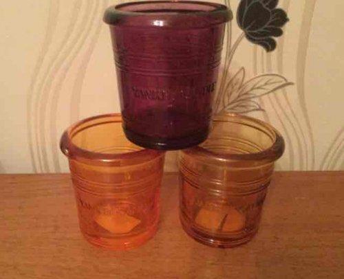 Yankee candle glass votive holders £1 @ Poundland
