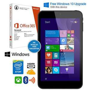 "Linx7, 7"" Windows Tablet, 32GB, HDMI, Bluetooth, Intel Quad Core & free 12 months MS Office 365 free windows 10 £49.99 @ hughes c&c"
