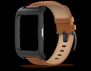 Brown Leather Strap for Sony Smartwatch 3 £29.99 + £5.99 p&p Sony Eshop