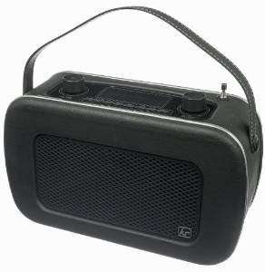 KitSound Jive 1950s Style Retro Portable DAB Radio with Dual Alarm Clock and Carry Handle - Black £49.99 Sold by betnix bargains and Fulfilled by Amazon