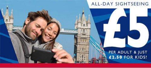 city cruises : travel on the thames for £5 - £2.50 for children - under-5s go free