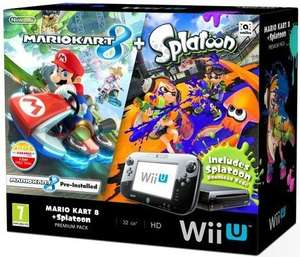 Wii U 32gb Premium Console [Includes Mario Kart 8 & Splatoon] £210 Delivered + Points worth £10.50 @ PixelElectronics - Rakuten