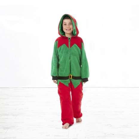Kids Christmas Onesie Elf / Reindeer / Penguin £2.49 @ Dunelm