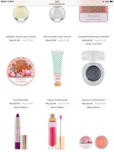 Accessorize makeup reduced from £4, £5, £6, £7 NOW £1! Free c&c.