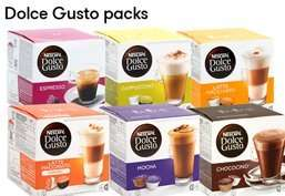 Dolce Gusto Pods £2.99 @ JTF Instore or add £4.99 P&P