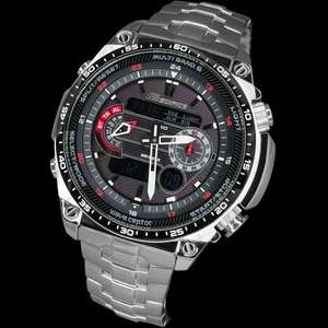 Casio Edifice ECW M300EDB 1AER WAS £275.00 NOW £136.95 free delivery from Heinnie Haynes