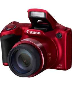 Canon PowerShot SX400 16MP 30x Zoom Bridge Camera £89.99 @ Argos